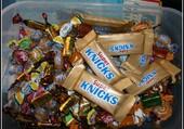 La boite à bonbons.