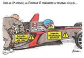 F1 electrique un trait d'humour