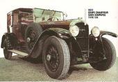 PEUGOT coupé chauffeur  type 174