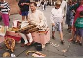 Puzzle musicien parvis cathédrale Strasbourg