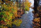 Ruisseau de moulin de St Laurent