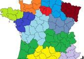 Puzzle CARTE DE FRANCE DES REGIONS