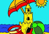 Puzzle la plage