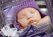 cadre photo de bébé