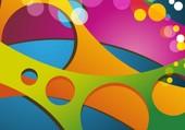 tableau multicolore