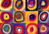 Puzzle maternelle Kandinsky