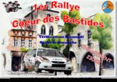 afiche du rallye Coeur des Bastides(47)