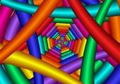 Puzzle bright-colorful-back