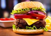 Un vrai burger américain
