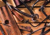 Différents vieux outils