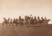 Brulé war Party