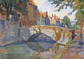 Petit pont à Bruges