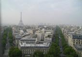 vue de l Arc de Triomphe