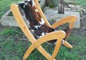 Puzzle fauteuil peau de vache