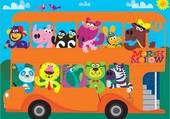 le bus animaux
