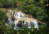 cascades du parc de la KRKA