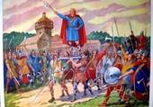 Clovis, roi des Francs.