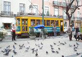 Puzzle le tramway de Lisbonne
