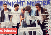 Puzzle One Direction Midnight Memories