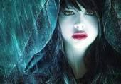 fille gothique