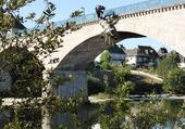 Le pont d'Argentat corrèze