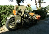 HARLEY POLICE MILITAIRE