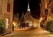 Noël dans le village