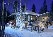 Le Père Noël prepare sa tournée
