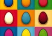 oeufs multicolore