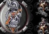 dragons et tigre