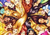 les cheveux des princesses