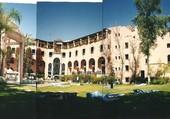 cour de l'hôtel Tichka