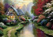 Le sentier fleuri