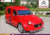 2cv V8 Ferrari