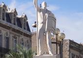 Statue du jouteur
