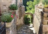 Puzzle Montclus dans le Gard (France)