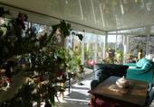 Puzzle Noël sous la veranda