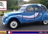 Puzzle Citroën 2cv Chic