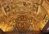 Plafond Salle des Cartes au Vatican