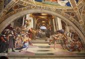 Peinture Chappelle Sixtine à Rome