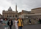 Place St Pierre à Rome