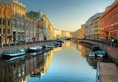 Puzzle Saint-Petersbourg le matin