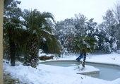 Neige dans le Vaucluse