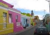 Maisons colorees