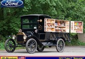 1917 Ford T Epicerie