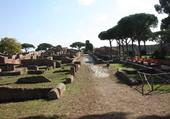 Ostie port de la Rome antique
