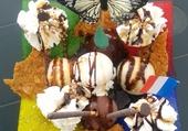 dessert de glaces