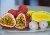 Puzzle fruits exotiques