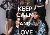 keep calm and love fifth harmony