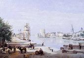 le port de La Rochelle- 1851